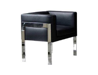 Кресло You3 черная кожа от дизайнерской студии Profoffice
