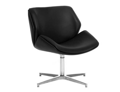 Кресло для переговорных Charm Lounge черное от дизайнерской студии Profoffice