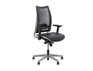 Рабочее кресло Overtime сетка серое фабрики Luxy