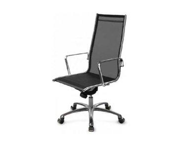 Кресло Luxy LIGHT MESH A черное (высокая спинка) фабрики Luxy