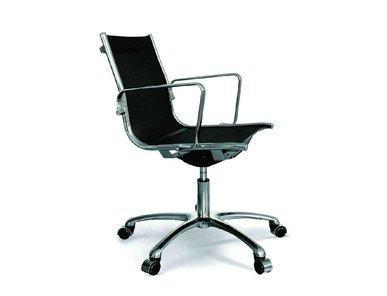 Кресло Luxy LIGHT B черное (средняя спинка) фабрики Luxy