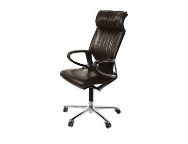 Кресло руководителя Modus Executive кожа коричневая фабрики Wilkhahn