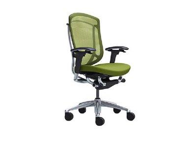 Кресло Contessa II зеленое фабрики Okamura