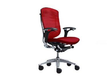 Кресло Contessa красное фабрики Okamura