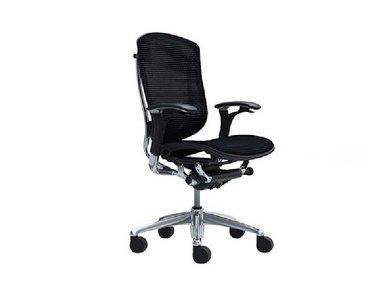 Кресло Contessa сетка черное фабрики Okamura