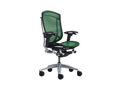 Кресло Contessa темно зеленое фабрики Okamura