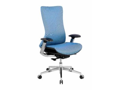Кресло College HLC-2588F/Blue REALCHAIR