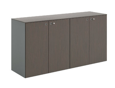 Система шкафов для бумаг MultipliCEO (дуб темный) фабрики Modern Design