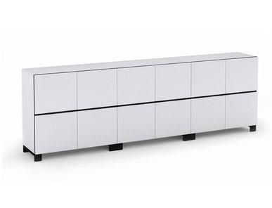 Офисный шкаф JAZZ белый (12 отделений) фабрики Narbutas