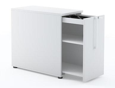 Офисный шкаф NOVA BASIC боковой (маленький) фабрики Narbutas