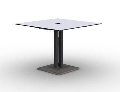Переговорный стол Jazz (регул-ка по высоте, бетонная база) фабрики Narbutas