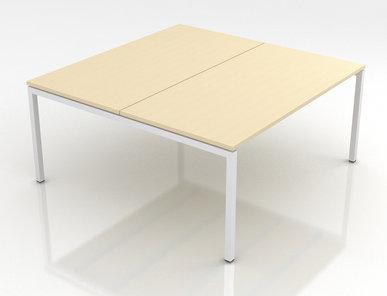 Система офисных столов Nova U Slide (для нескольких сотрудников) фабрики Narbutas
