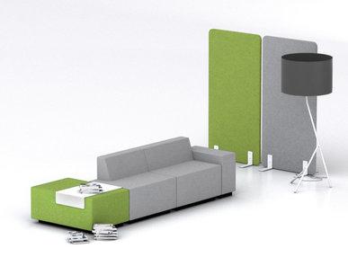 Пуф JAZZ CHILL-OUT с металлическим столиком зеленый фабрики Narbutas