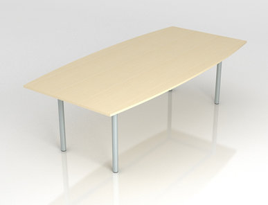 Переговорный стол OPTIMA (с опорами из стальной трубы) фабрики Narbutas