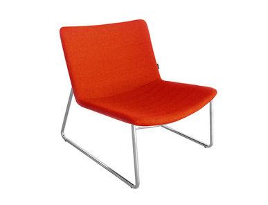 Кресло VEGAS красное фабрики Narbutas