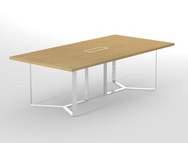 Переговорный стол PLANA (на 3, 8 и 14 человек) фабрики Narbutas