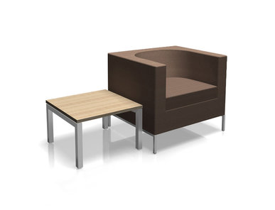 Кресло RUBIK коричневое фабрики Narbutas