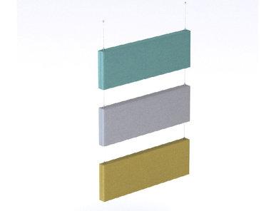 Потолочные (вертикальные, двухсторонние) панели MODUS фабрики Narbutas