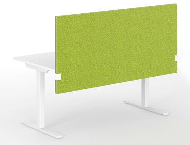Акустические перегородки MODUS (для столов ONE, EASY и T-EASY) фабрики Narbutas