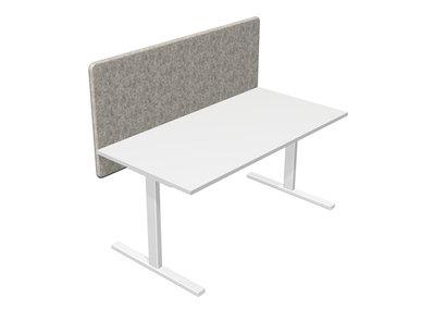 Акустические перегородки DESK 760 для столов EASY, AIR, OPTIMA G фабрики Narbutas