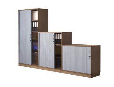 Офисный шкаф Uni Plus (с жалюзийными дверцами) фабрики Narbutas