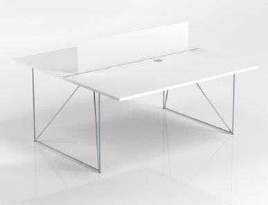 Перегородка AIR для системы офисных столов фабрики Narbutas