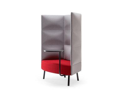 Silent box Cumulus (стол, 3-хъярусн. спинка) (металл. опоры и стол) фабрики CUMULUS