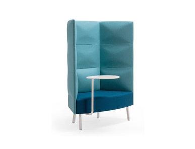 Silent box Cumulus 3-хъярусн. спинка, стол (металл. опоры и стол) фабрики CUMULUS