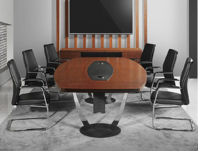 Стол для переговоров Epsilon Meeting фабрики FLEKSSIT