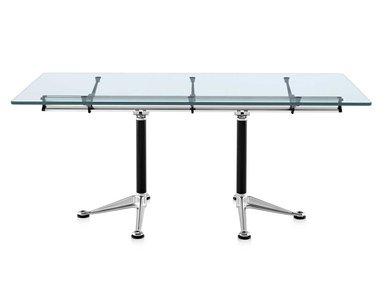 Стол для переговоров прямоугольный BURDICK фабрики Herman Miller