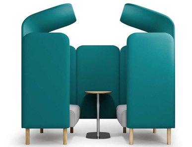 Акустическая мягкая мебель AUGUST фабрики SOFTREND