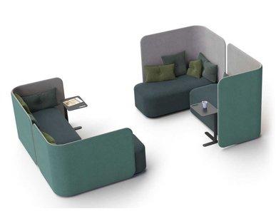 Акустическая мягкая мебель PODLOUNGE фабрики MARTELA