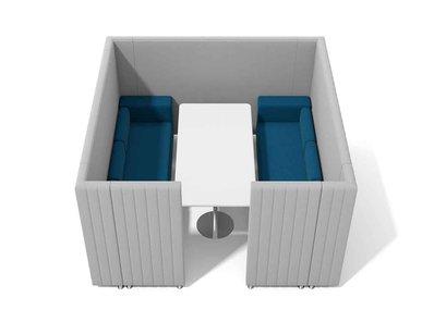 Акустическая мягкая мебель MAJI SISTEMA 6 фабрики ADRENALINA