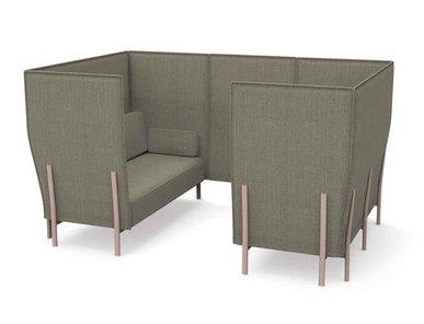 Акустическая мягкая мебель ELEVEN HIGH BACK PRIVACY - 867 фабрики ALIAS