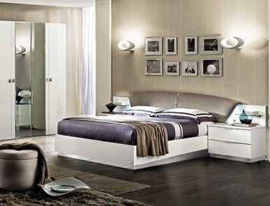 Итальянская спальня ONDA WHITE фабрики MODUM