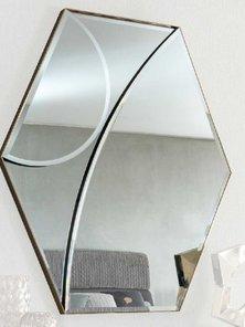 Итальянское зеркало в металлической раме CHARISMA фабрики GIORGIO COLLECTION