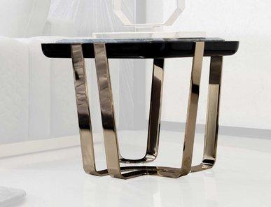 Итальянский квадратный боковой столик CHARISMA фабрики GIORGIO COLLECTION