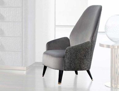 Итальянское кресло из массива бука CHARISMA фабрики GIORGIO COLLECTION