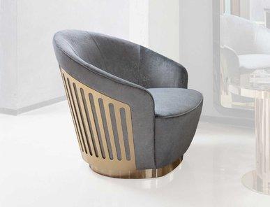 Итальянское кресло поворотное CHARISMA фабрики GIORGIO COLLECTION