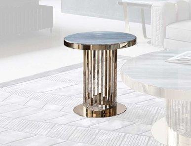 Итальянский круглый столик CHARISMA фабрики GIORGIO COLLECTION
