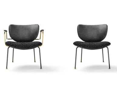 Итальянское кресло Kalida Lounge фабрики BLACK TIE
