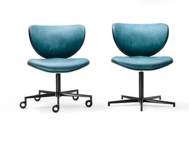 Итальянский стул Kalida Office фабрики BLACK TIE