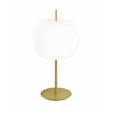 Итальянская настольная лампа KUSHI XL фабрики KUNDALINI
