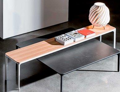Итальянский журнальный столик SLIM H46 фабрики SOVET