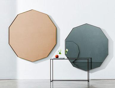 Итальянское зеркало VISUAL DECAGONAL фабрики SOVET
