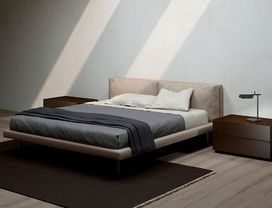 Итальянская кровать Ghost фабрики EMMEBI