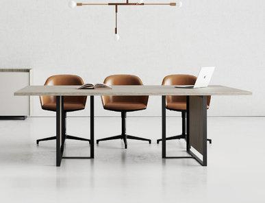 Итальянский стол для переговоров Magenta фабрики CUF Milano