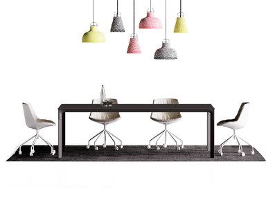 Итальянский стол для переговоров Seventy Seven фабрики CUF Milano
