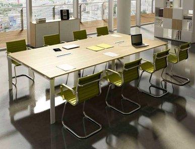 Итальянский стол для переговоров Doria фабрики CUF Milano