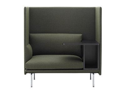 Итальянский диван OUTLINE HIGHBACK WORK фабрики CUF Milano